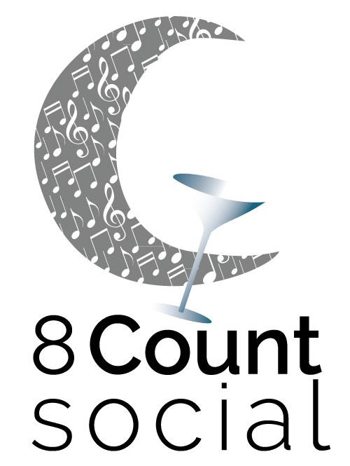 8 Count Social custom logo design