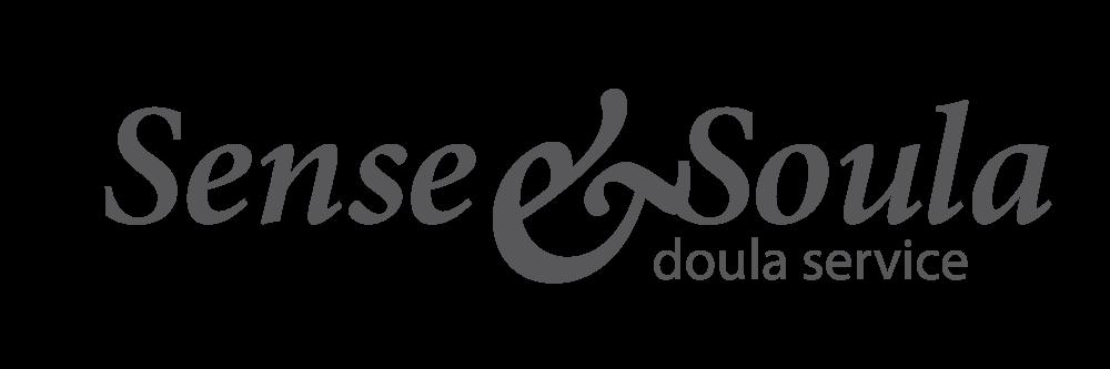 sense & soula custom design type logo