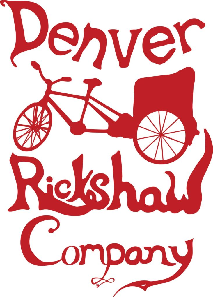 Denver Rickshaw Company logo by 602 Creative