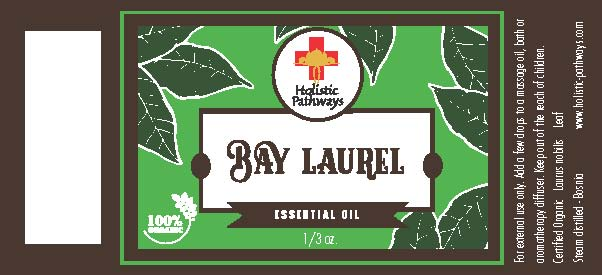 Essential Oil bottle label